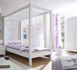 Детская кровать «Лотос-6» белая