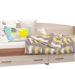 Кровать-софа с ящиками