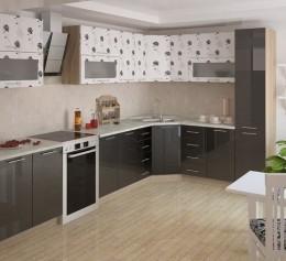 Угловая кухня «Хризантема»