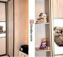 Шкаф купе детский с фото