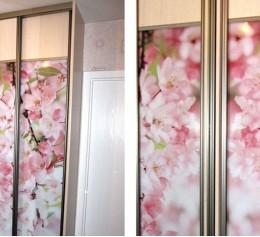 Шкаф угловой (1 дверь зеркало. 2 двери фото)