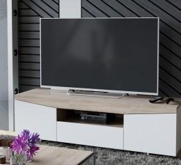 Тумба под телевизор (Белый Ясень/Дуб Санома)