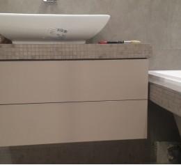 Тумба в ванную, ДСП EGGER, ПВХ REHAU. фурнитура Hettich-KESSEBOHMER